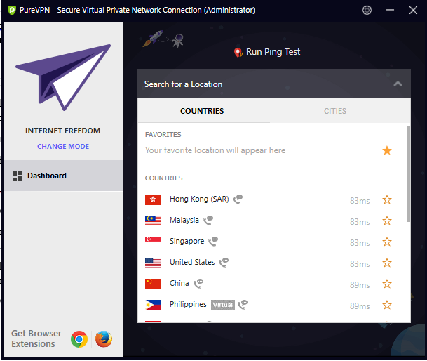 how to use purevpn