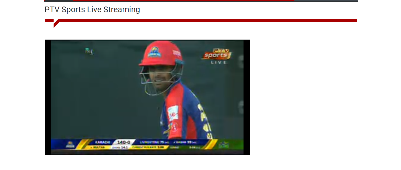 psl on ptv sports live streaming free