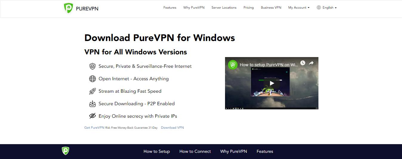 PureVPN Download for windows