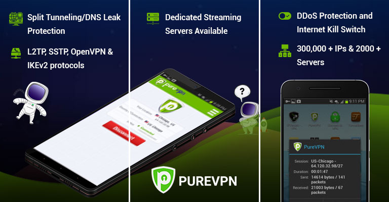 PureVPN for Android