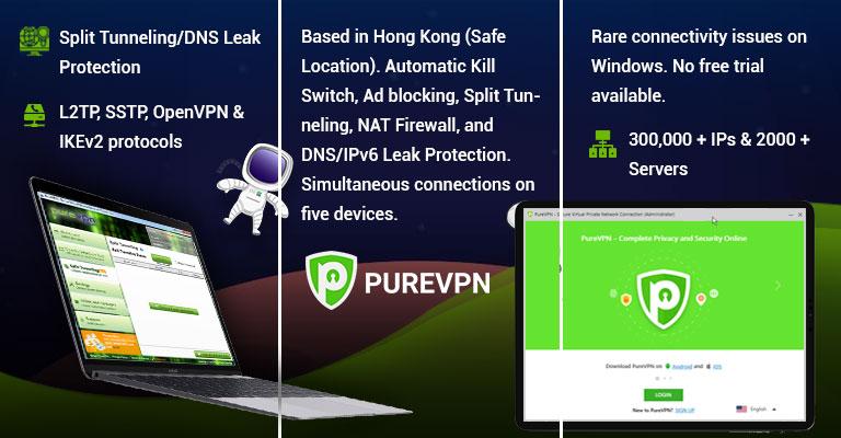 PureVPN for Windows