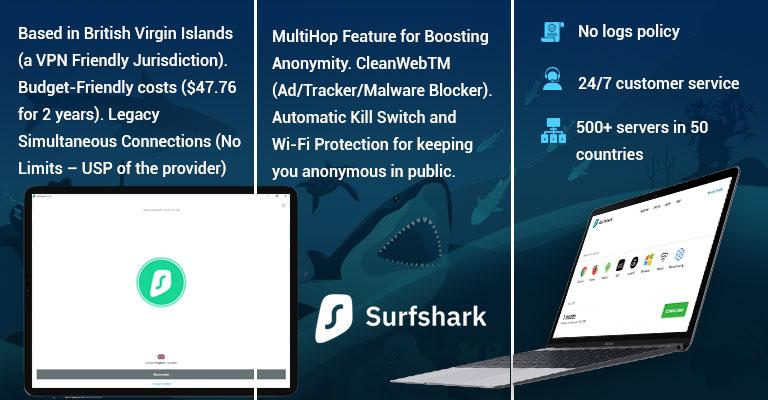 Surfshark for Windows