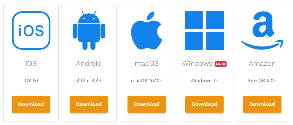 encrypt.me client apps