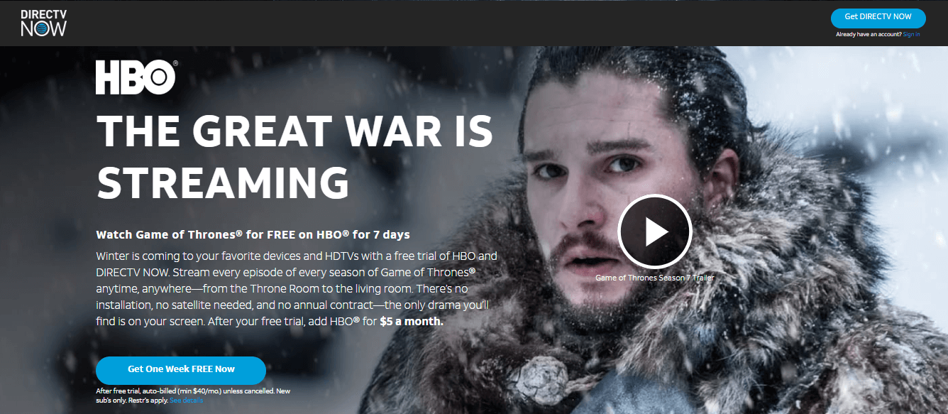 game-of-thrones-on-directtv-now