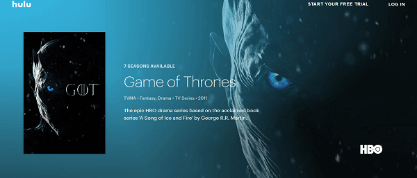 How to Watch Game of Thrones on Hulu - A Beginners Guide
