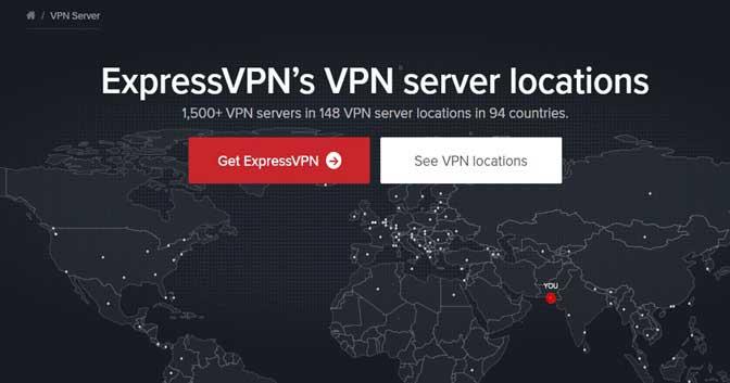ExpressVPN-Server und Leistung