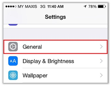 iPhone VPN Settings - PPTP Protocol