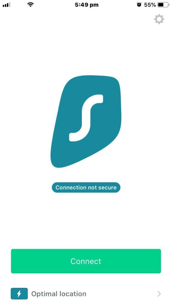 Rezension von SurfShark iOS App 2019