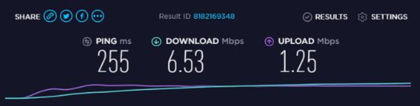 shellfire UK server speed test