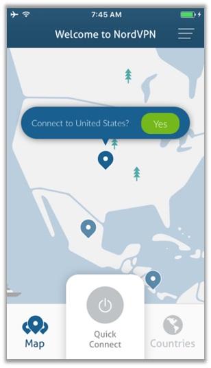 Nord VPN für iOS