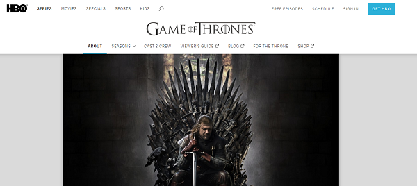 watch game of thrones on hbo canada