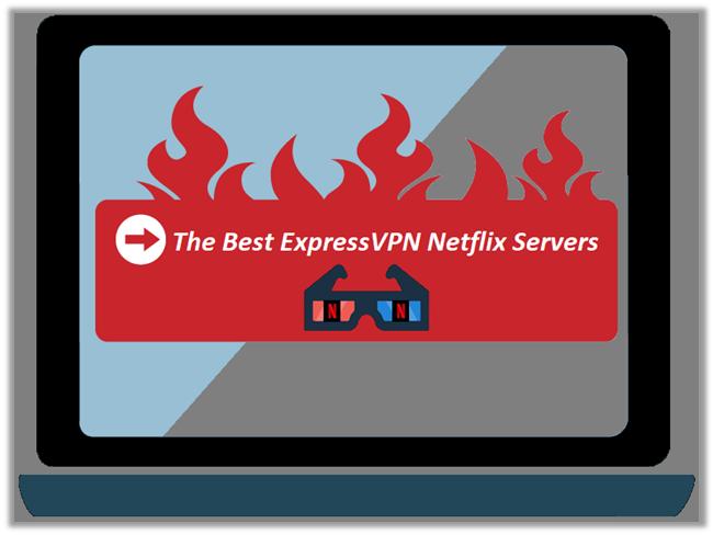 The Working List of ExpressVPN Netflix Servers to Access Netflix US & UK