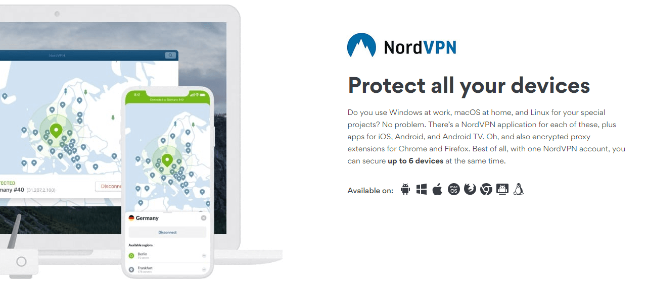 number 2 recommened vpn service is nordvpn