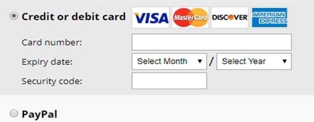 Avast VPN Payment Methods